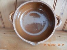More details for toussaint hotton vintage french glazed clay bowl