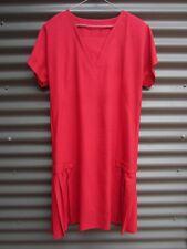 Women's Red Linen Dress