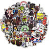 100Pcs Star Wars Vinyl Stickers Graffiti Bomb Decals Pack Car Laptop Skateboard
