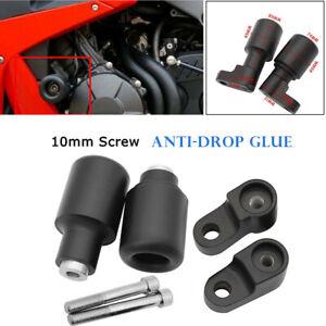 Motorcycle Anti-drop Glue Modified Body Shatter Bar 10MM Screw Frame Crash Cap