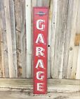 "Chevrolet Chevy Garage 30"" Large Embossed Metal Tin Sign Garage Vintage New"