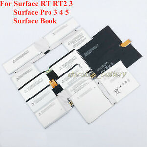 Replacement Battery For Microsoft Surface Book RT 2 3 Pro 1 2 3 4 5 6 7 Series