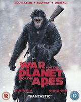 War For The Planet Of The Apes [Blu-ray] [2017] [DVD][Region 2]