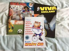 More details for 3 england world cup guides - spain '82