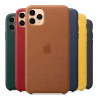 Luxury Leather Original Genuine Phone Case Cover For iPhone 11 Pro Max