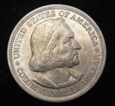 1893 Columbian Exposition Commemorative Silver Half Nice High Grade