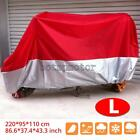 Motorcycle Moped Scooter Cover Dust UV Protector For Honda CBR 125R 250R 300R