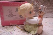 Precious Moments Ornament 2001 May Your Christmas Begin With A Bang Girl/Soldier