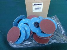 25 3quick Change Sanding Disctp Snap Onoff Type 1100 Grit Aluminum Oxide