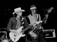🎶 young Guitar Legend Stevie Ray Vaughan - SRV -  8x10 photo!!