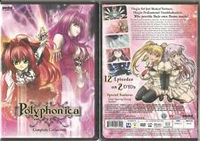Polyphonica: Complete Anime Collection (DVD, 2009, 2-Disc Set) BRAND NEW