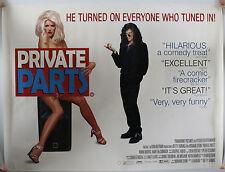 PRIVATE PARTS UK QUAD FILM POSTER