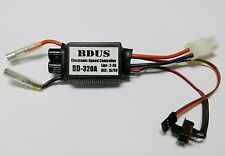 074b: 1x 320A Brushed ESC suit w/ 2-3S lipo. Forward/Reverse,for 1:10 RC Car