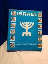 1959 Israel Minkus Stamp Collection, hardcover