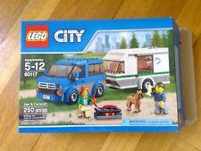Lego Van and Caravan 60117 250 pieces 100% complete