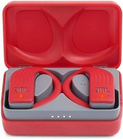 JBL Endurance PEAK Waterproof True Wireless In-ear Sport Headphones Red NEW