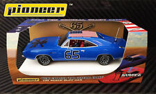 Pioneer Slot Car P094 Dodge Charger Dukes of Hazzard General Grant in Crazy Blue