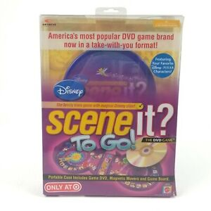 Disney Scene It To Go DVD Trivia Game Travel edition Target Exclusive, New Open