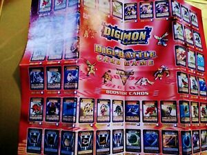 Digimon card list for series 4 cards