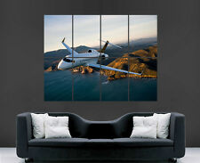 LEARJET AEROPLANE JET POSTER SKY FLYING LARGE PICTURE POSTER GIANT