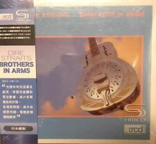 DIRE STRAITS - BROTHERS IN ARM  (XRCD + SHM) CD MADE IN JAPAN