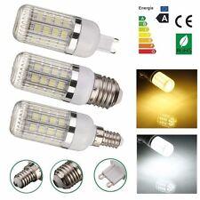 Dimmable E14 E27 G9 7W 36x5050 SMD Outdoor LED Corn Light Globe Bulb W/Cover