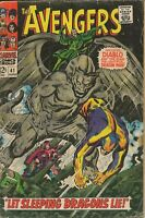 Avengers #41 ORIGINAL Vintage 1967 Marvel Comics Diablo Dragon Man