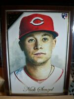 2019 Topps Gallery~NICK SENZEL~(RC)~Brown Canvas Parallel~#133