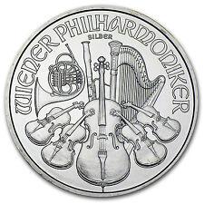 2008 Austria 1 oz Silver Philharmonic BU - SKU #33225