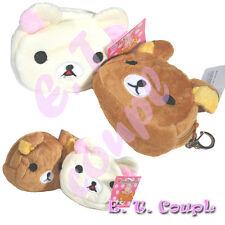 2PC JP San-X Korilakkuma bear friendship money coin bag
