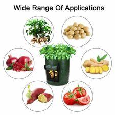 Potato Grow Bags 10 Gal Garden Vegetable Planters Bag w/ Handles 2-pack