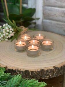 BULK BUY Clear Glass Tea Light Holder Candle Votive Wedding Table Decoration