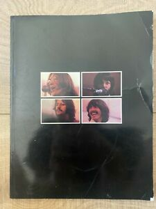 The Beatles Get Back Book Published by Apple 1969