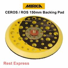 Mirka CEROS / ROS Sander Backing Pad 150mm 51 holes 5/16 (Medium) 8295692111 NEW