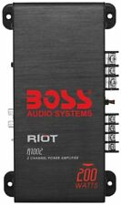 BOSS Riot 200W 2 Channel Full Range, Class A/B Amplifier - Full Range