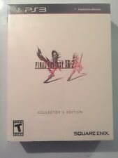 Final Fantasy XIII-2 Collector's Edition PS3 Brand New Sealed! Fast Free Ship