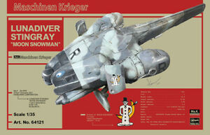 Hasegawa HA64121  1/35 Ma.K LUNADIVER STINGRAY with Embroidered Patch-USA Seller