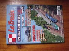 $$x Revue Le Train N°251 BB 67300  Gueret-La Chatre  Thalys  BB 900  141 TA