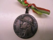 Wwi Italian Campionati Nazionali Militari 1919 Roma Medal