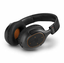 Wireless Bluetooth Headphones Noise Isolating Stereo Over Ear Foldable Headset