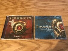 Firewind - Allegiance SIGNED by BOB KATSIONIS & Falling to Pieces SEALED SINGLE