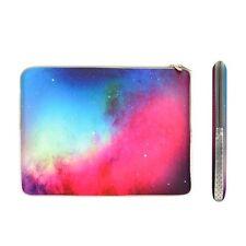 "Pink Galaxy Graphic Zipper Sleeve Bag for 13"" Macbook / Air / Pro / Chromebooks"