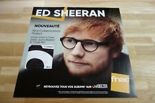 ED SHEERAN - N°6 collaborations !!!!!!! PLV 30 X 30 CM !!I DISPLAY