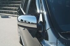 Chrome Mirror Cover Overlays Fits 2007 2008 Hyundai Santa Fe