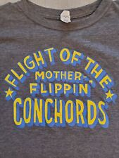 Flight Of The Conchords XL Womens Gray Shirt North American Tour 2016