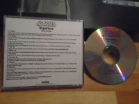RARE ADV PROMO Jesse McCartney CD Departure pop rap KWAME The-Dream DREAM STREET