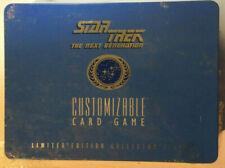 Juego de tarjetas coleccionables de Star Trek