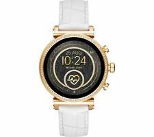 Nuevo gen 4 de acceso Michael Kors Sofie blanco correa de silicona reloj inteligente MKT5067