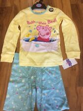 M&S Peppa Pig Pijama mayores de 5-6 Años BNWT