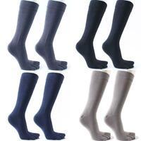 Men Cotton Lange Fünf Finger Socken Winter  Breathable Deodorant Zehensocken